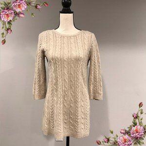 Gorgeous knit beige sweater